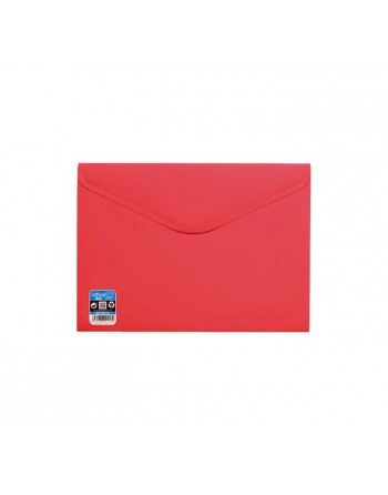 OFFICE BOX SOBRE V-LOCK VELCRO VITAL COLOR A4+ ROJO - 90118-R