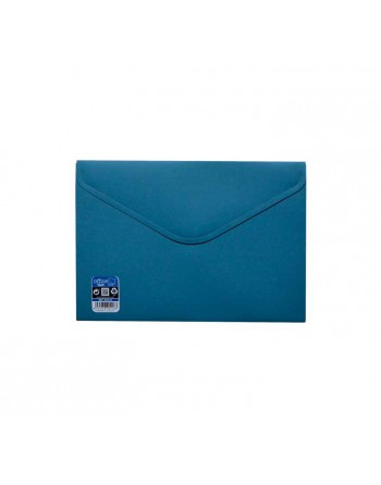 OFFICE BOX SOBRE V-LOCK VELCRO VITAL COLOR A5 AZUL - 90418-A