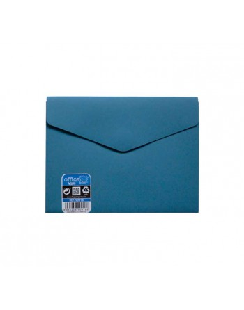 OFFICE BOX SOBRE V-LOCK VELCRO VITAL COLOR A6 AZUL - 90918-A