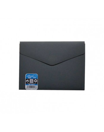 OFFICE BOX SOBRE V-LOCK VELCRO VITAL COLOR A6 GRIS - 90918-G