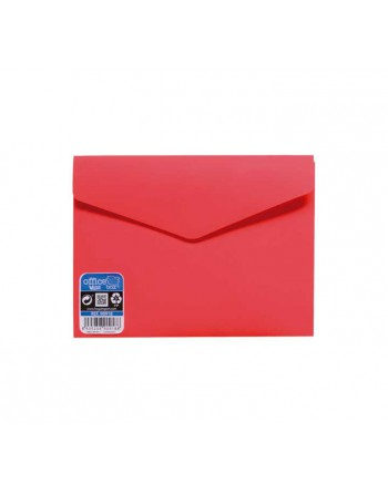 OFFICE BOX SOBRE V-LOCK VELCRO VITAL COLOR A6 ROJO - 90918-R