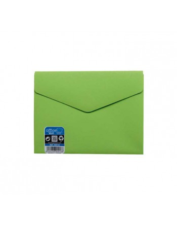 OFFICE BOX SOBRE V-LOCK VELCRO VITAL COLOR A6 VERDE - 90918-V