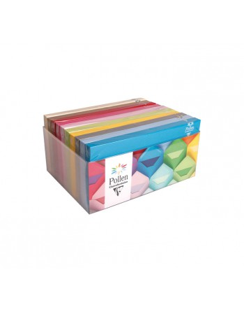 CLAIREFONTAINE 10 PACK X20 SOBRES CL FUNCOLORES SURTIDO DL LISO - 89002C