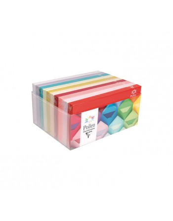 CLAIREFONTAINE 10 PACK X20 SOBRES CL FUNCOLORES SURTIDO DL RUGOSO - 89013C