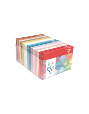 CLAIREFONTAINE 15 PACK X20 SOBRES CL FUNCOLORES SURTIDO C6 RUGOSO - 89012C