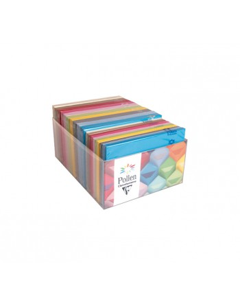 CLAIREFONTAINE 20 PACK SOBRES CL FUNCOLORES SURTIDO C6+TARJ. LISO - 89003C