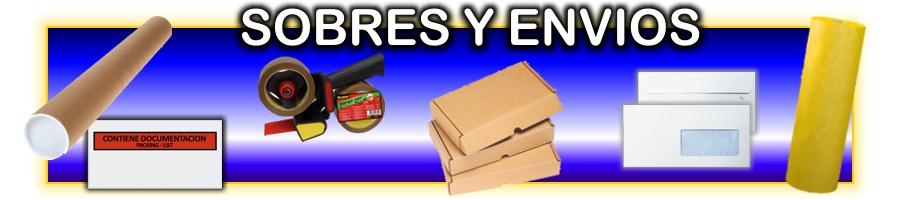Sobres y embalage para envios