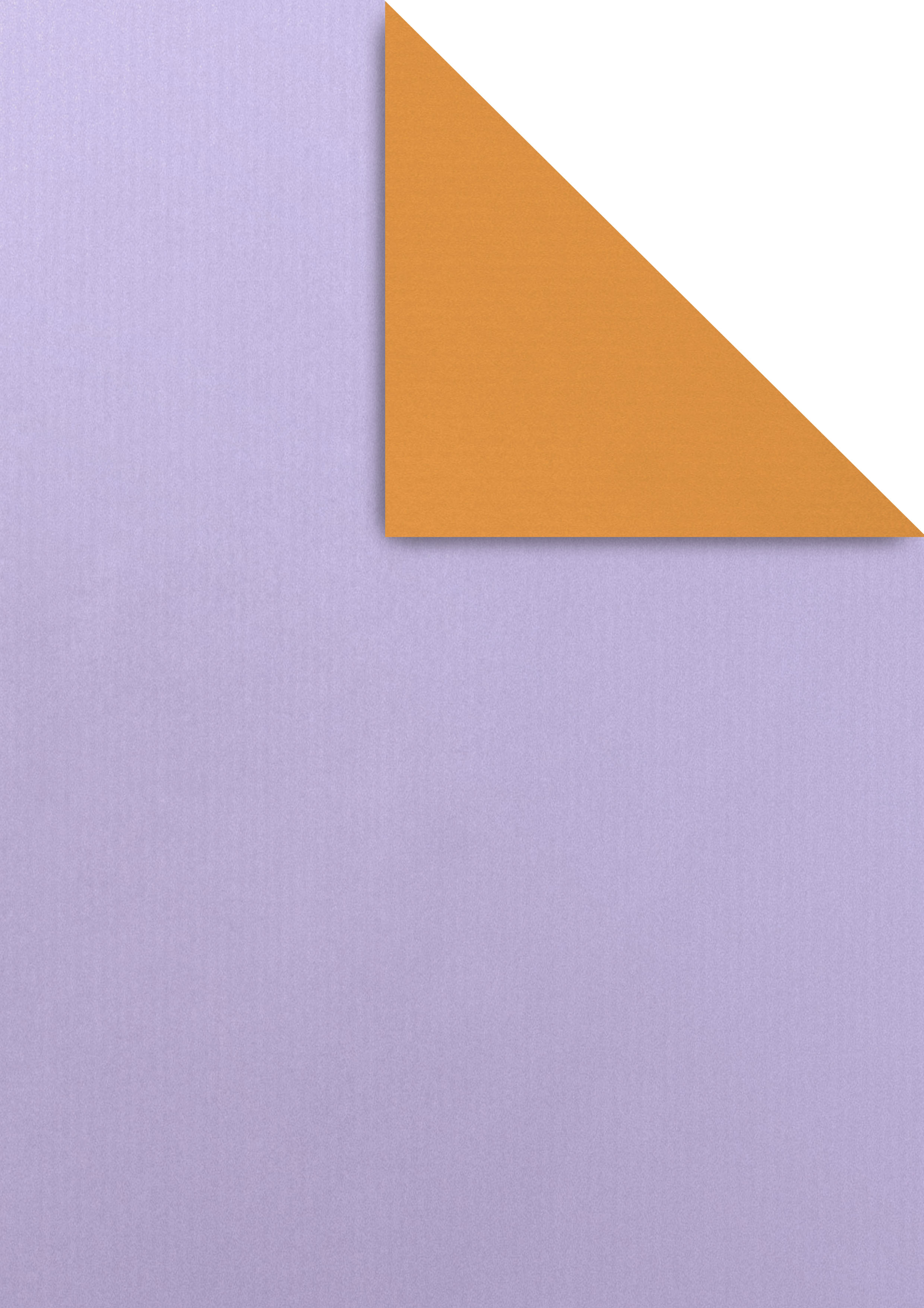 kraft blanc color doble cara lila taronja