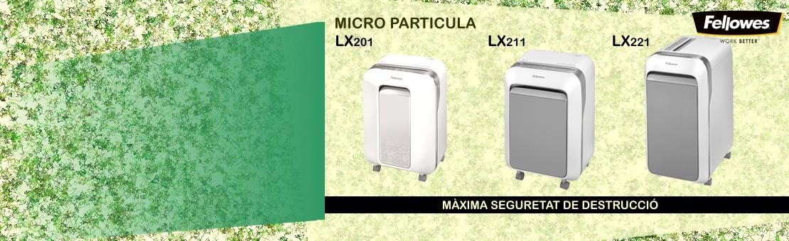 Destructora de última generación que ofrece una productividad inigualable y un rendimiento 100% anti-atascos