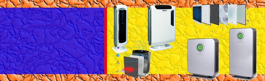 Purificacion de aire con 4 o 6 filtros y con una capacidad para locales entre 20 y 150 m2.